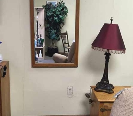 Oak Wall Mirror