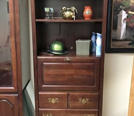 Secretary Desk Hutch