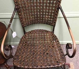 Metal Weave Chairs