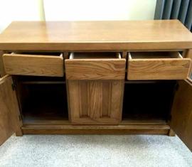 Oak Buffet Cabinet
