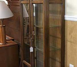 Glass Shelf Curio