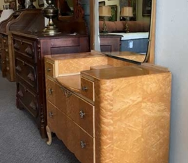 Antique Mirror Vanity
