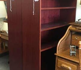 Bookshelves / Back View