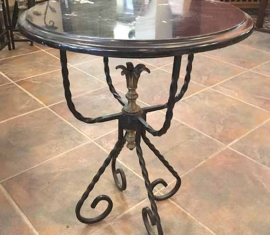 Marble Lamp Table