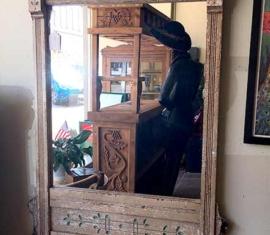 Shabby-Chic Mirror