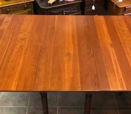 Drop-Leaf Gate-Leg Dining Table