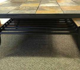 Slate Tile Coffee Table