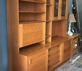 Danish Modern Bookcase