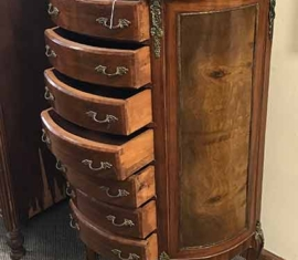 Antique Jewelry Lingerie Chest