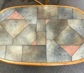 Slate-top Coffee Table