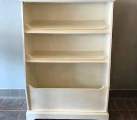 Pottery Barn Bookshelf & Toy Box