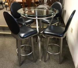 Metal Pub Table set