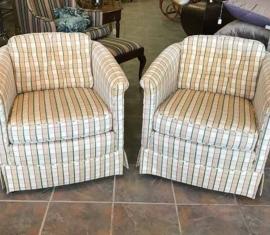 Matching Club Chairs