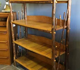 Amish-Built Bookshelf