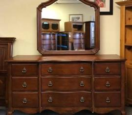 Cherry Mirror Dresser
