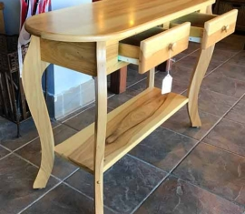 Amish Built Sofa Table