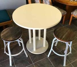 Bistro Table Adjustable Stools