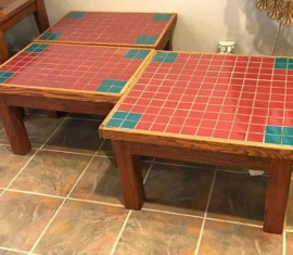 Tile Table Set