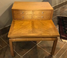 American Oak End Table