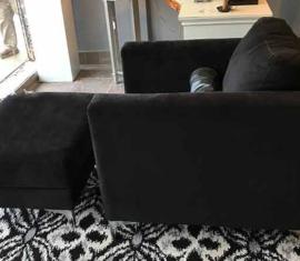 Box Chair & Ottoman