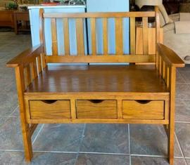 Coaster Wood Bench