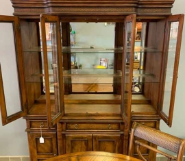 Ashley China Cabinet