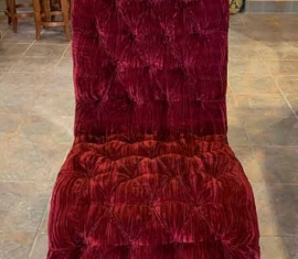 Velvet Occasional Chair