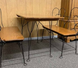 Wire Table Set
