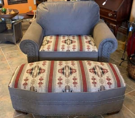 Marshfield Chair & Ottoman