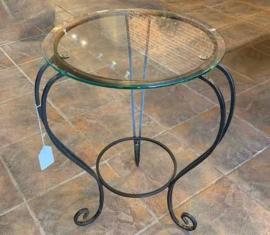 Metal Lamp Table