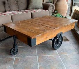 Trolley-car Coffee Table