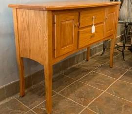 Amish Built Oak Buffet