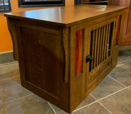 Amish-built Oak Cabinet