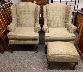 Matching Wingback Chair