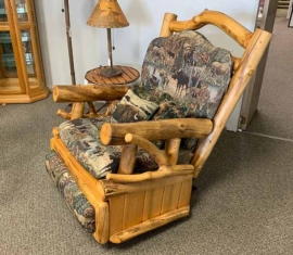 Roughing It In Style Rocker Recliner