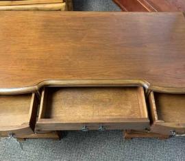 Bow-front Desk