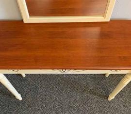 Entryway Table & Mirror