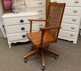 Mission-style Desk Chair