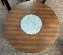 Crackle Top End Table