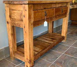 Rustic Console Table