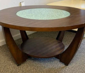 Crackel Top Coffee Table