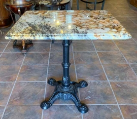 Marble-top Game Table