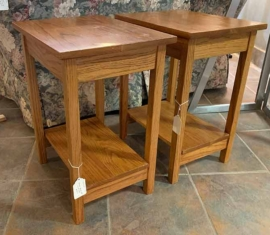 Amish-built Oak Nightstands