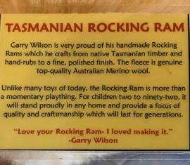 Tasmanian Rocking Ram