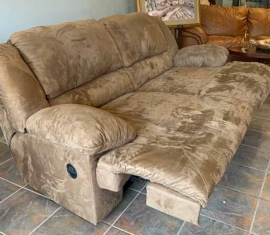 Ashley Double Recliner Sofa