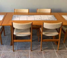 Teak Danish Modern Dining Set