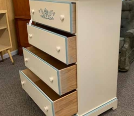 Dixie Highboy Dresser