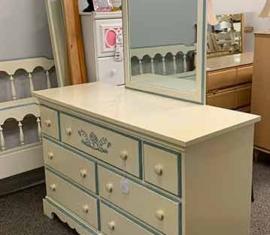 Dixie Mirror-Dresser
