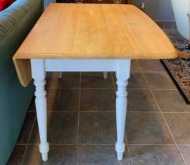 Drop-Leaf Dining Table