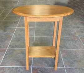 Oak End Table